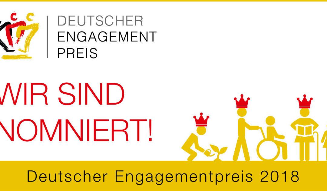 Zimmerwetter für Deutschen Engagementpreis 2018 nominiert