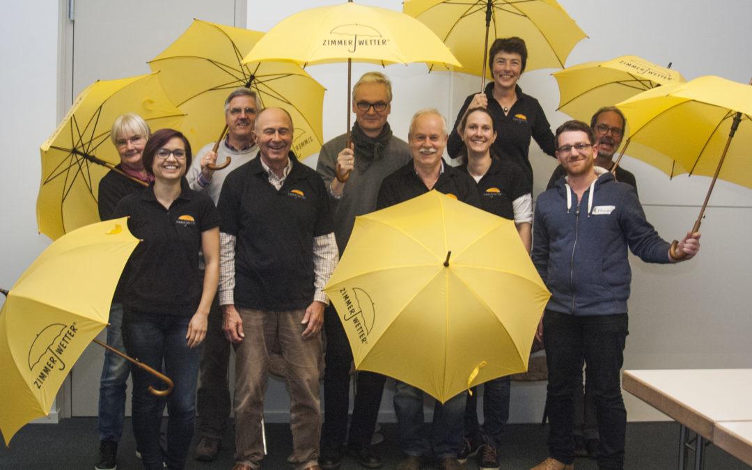 Acht neue Zimmerwetter-Profis für Hamburg