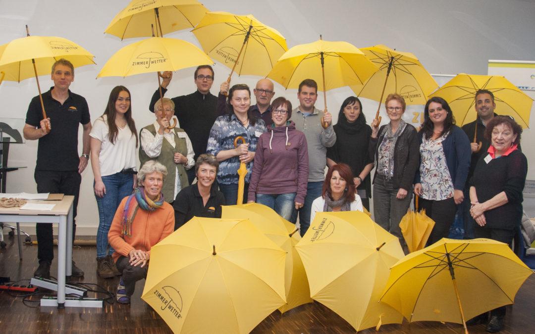 Start für das Zimmerwetter in Rheinland-Pfalz