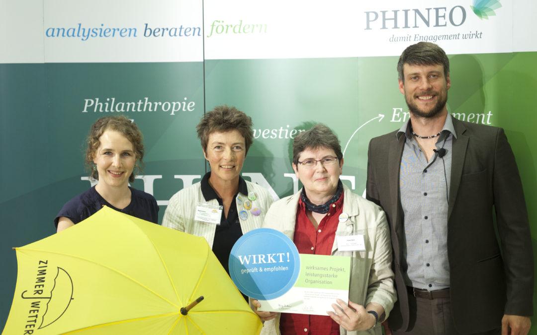 PHINEO Wirkt-Siegel: Feierliche Preisverleihung in Berlin
