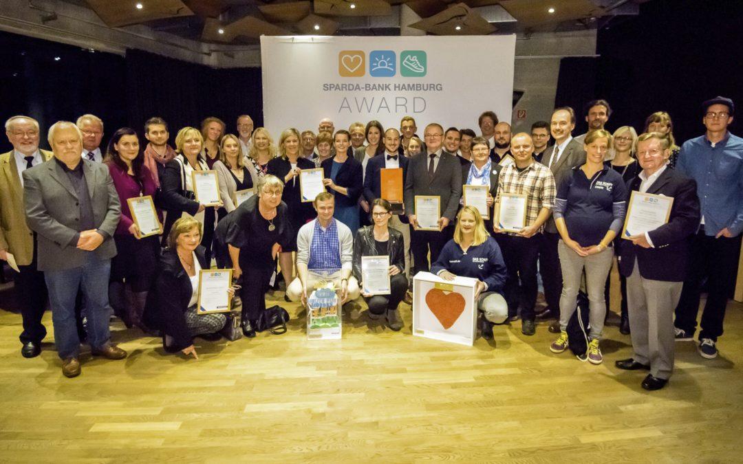 Preisträger im Sparda-Bank Hamburg Award 2015