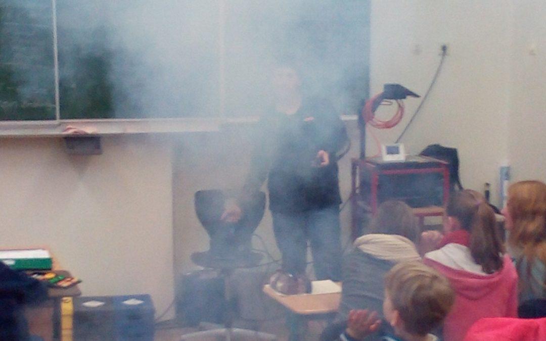 Erster Zimmerwetter-Projekttag in Kronshagen