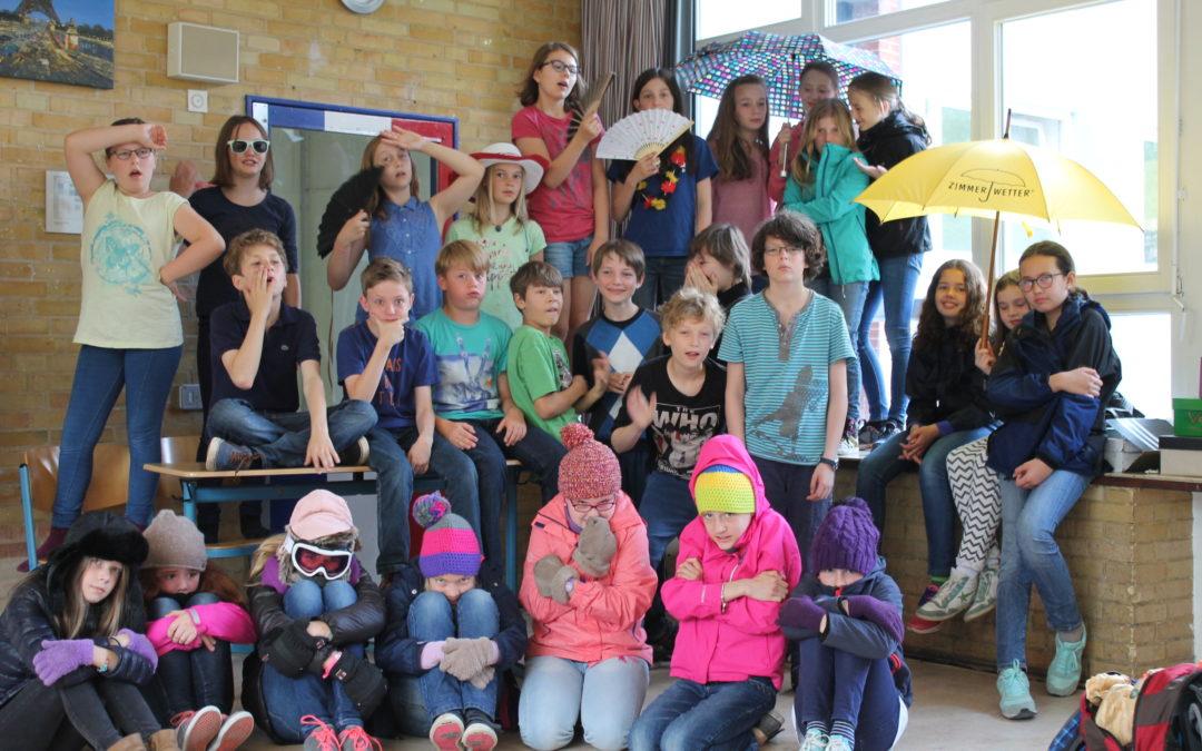 Zimmerwetter-Schülerwettbewerb – Die Beiträge