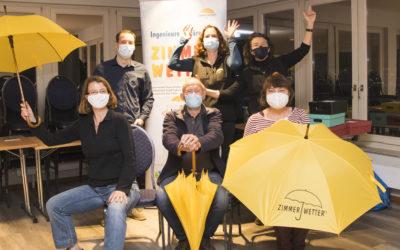 Fünf neue Zimmerwetter-Profis für Hamburgs Schulen